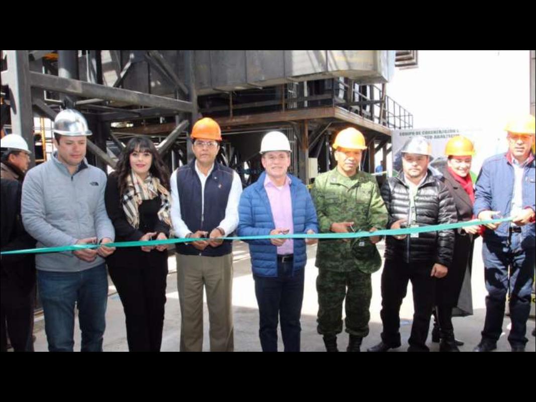 apertura de primera planta cogeneración México