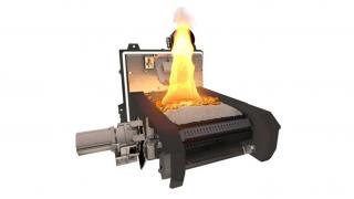 El nuevo quemador de parrilla viajera para combustibles dificiles de KWB estará en #Expobiomasa2017 presentado por SALTOKI