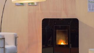 Estufa moderna de biomasa