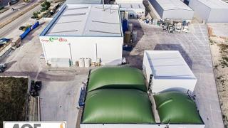 Cambio de gas natural a biogas en una industria de burgos