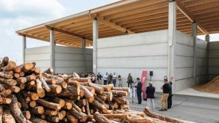 """Centro Logístico de Biomasa con astilla de """"kilómetro cero"""" en el Vallès"""