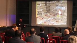 Serra muestra los beneficios de la biomasa