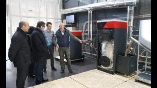 Instalacion de biomasa en aragón
