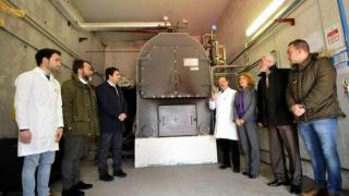 Caldera biomasa matadero de Mieres