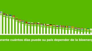Uso de biomasa por países